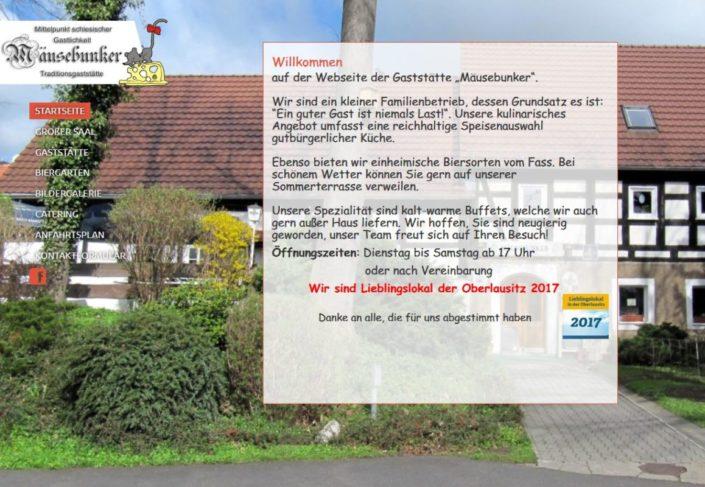 Traditionsgasstätte Mäusebunker Niederreichenbach